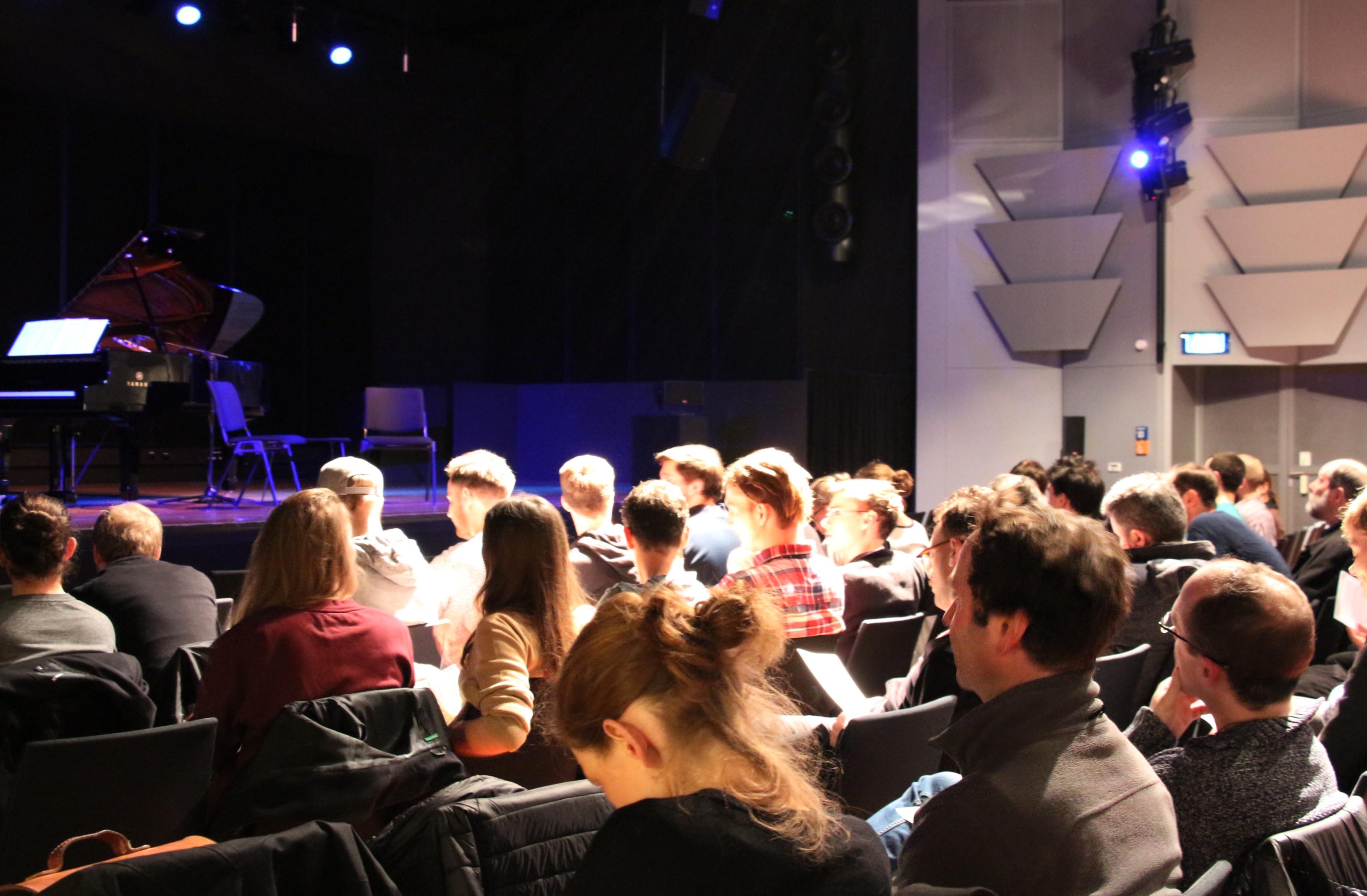 Konzert Barry Truax, Dezember 2015